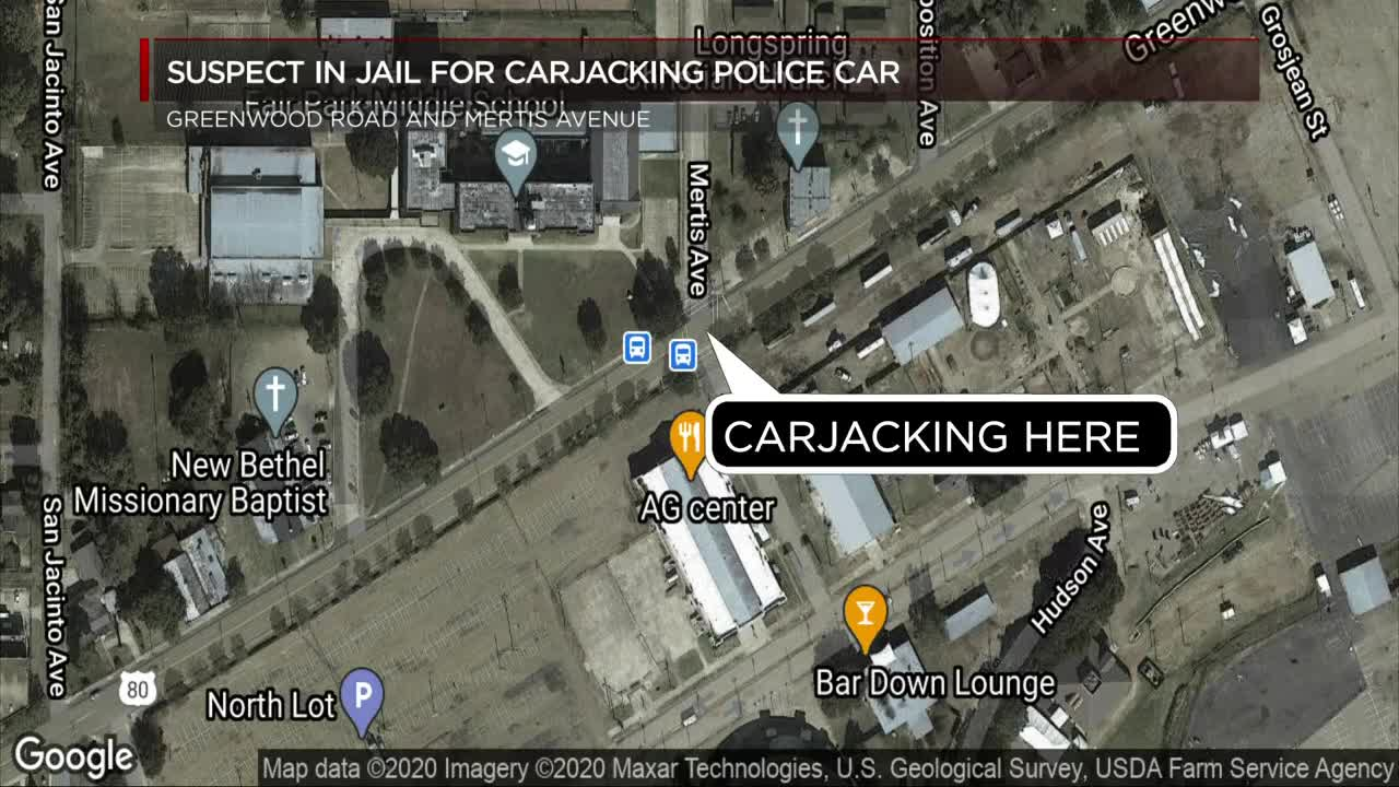 Spd Officer S Vehicle Carjacked 1 Injured Woman Arrested
