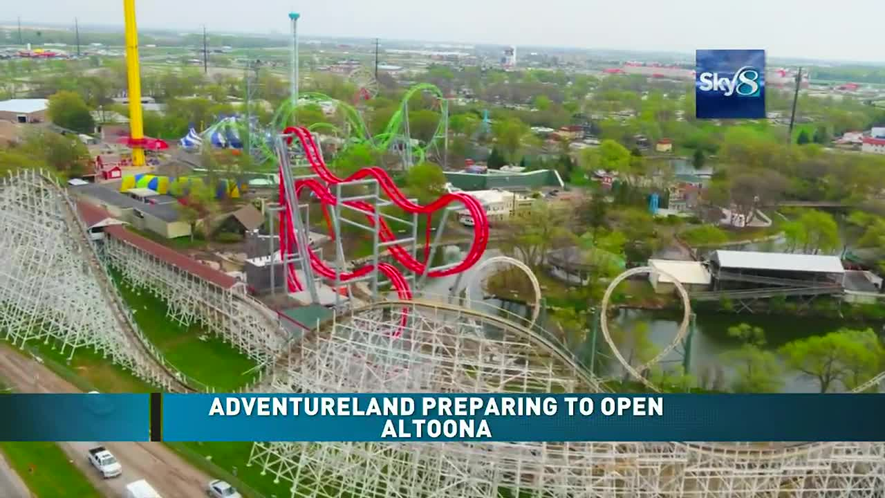 Adventureland Park To Open Saturday For Some Season Pass Holders