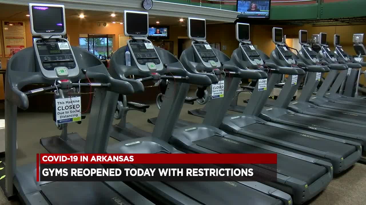 Gyms Reopen Across Arkansas With Restrictions In Place