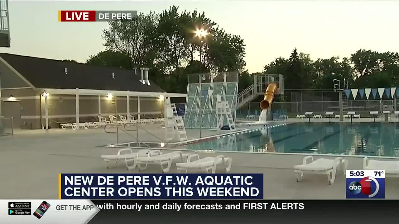 Beat The Heat De Pere S New Vfw Aquatic Facility Opens June 12