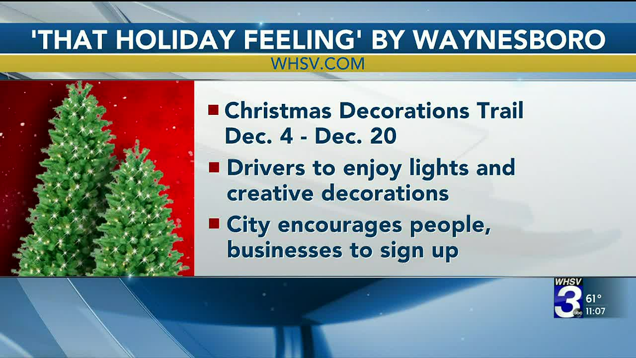 Waynesboro Christmas Parade 2020 Waynesboro opts for reverse Christmas parade, decorations trail